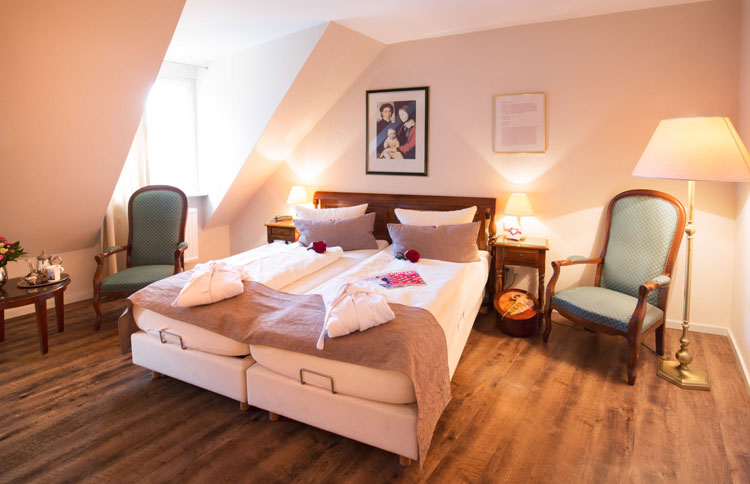 Deluxe Doppelzimmer Familie Overbeck