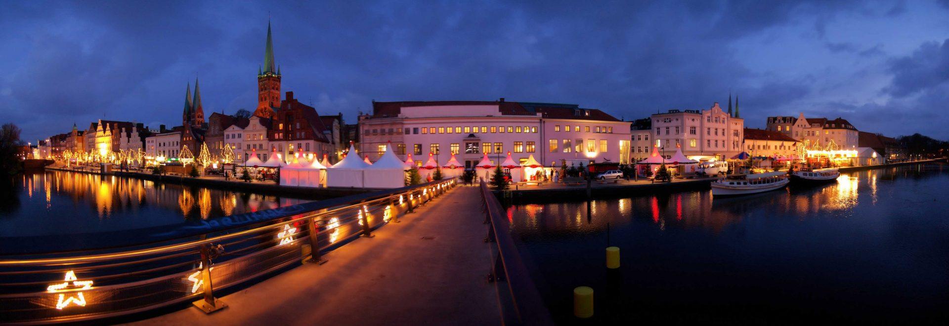 Lübeck die Weihnachtsstadt des Nordens.