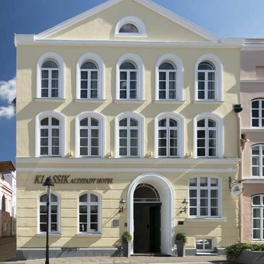 Fassade de Klassik Altsadt Hotels Lübeck