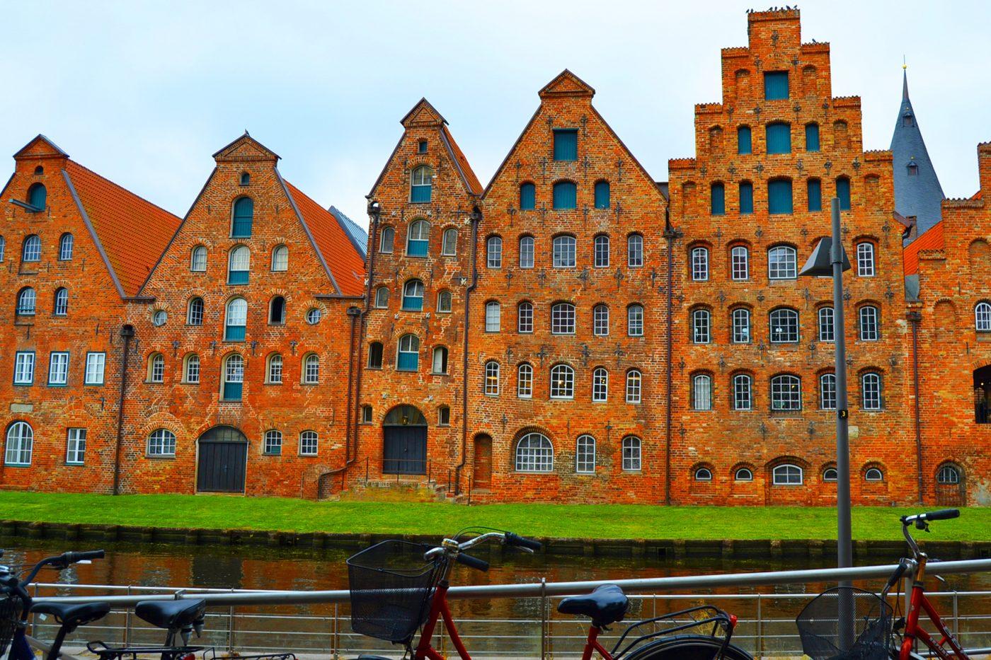 Mit dem Fahrrad nach Lübeck