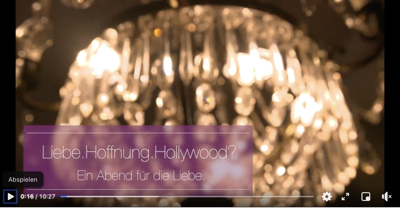 Liebe.Hoffnung.Hollywood bei Facebook anschauen