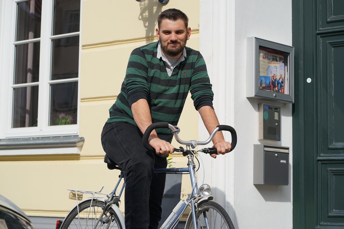 Fahrradfahren in Lübeck
